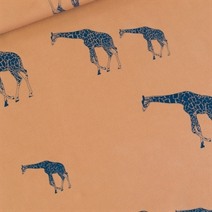 Picture of Giraffe - L - French Terry - Cathay Brown