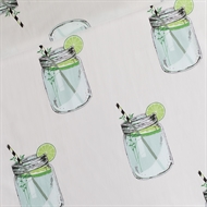 Afbeelding van Iced Tea - L - Cotton Lawn - Lichtgrijs