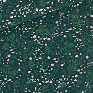 Picture of Flower Garden - M - French Terry - Vert de l'épinette très foncé