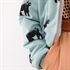 Picture of Gorillas - M - French Terry - Grijs Mistblauw