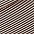 Bild von Diagonals - M - Baumwolle Canvas Gabardine Twill - Schwarz & Weiß & Kupfer
